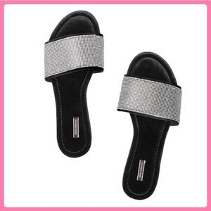 New Victoria's Secret Velvet Slides